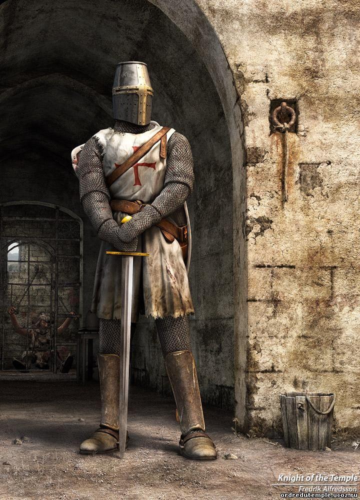 Орден рыцарей Храма начался как духовное братство, а закончился как